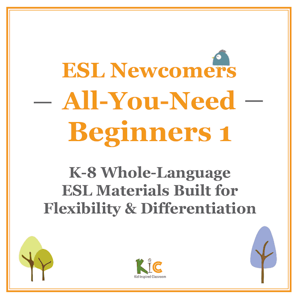 ESL Newcomers All You Need Beginners 1 (small)