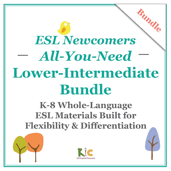 ESL Newcomers All You Need Beginners Bundle v1