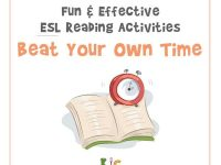 Fun and Effective ESL Reading Activity Beat Your Own Time (600x600)
