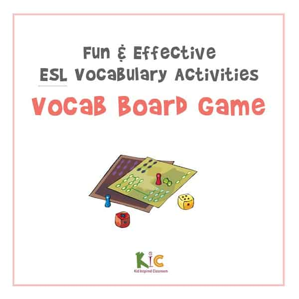 Fun and Effective ESL Vocabulary Activity Board Game (600x600)