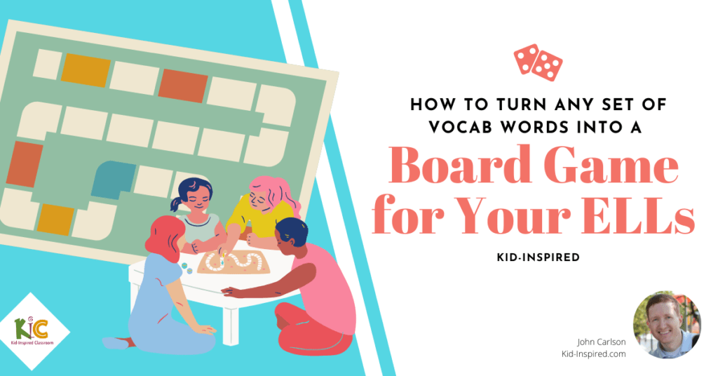 Turn Vocab Words Into a Board Game for Your ELLs