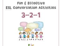 Fun and Effective ESL Conversation Activity 3-2-1 Activity (600x600)