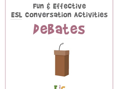 Fun and Effective ESL Conversation Activity Debates (600x600)