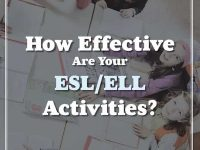How Good Are Your ESL ELL Activities Picture