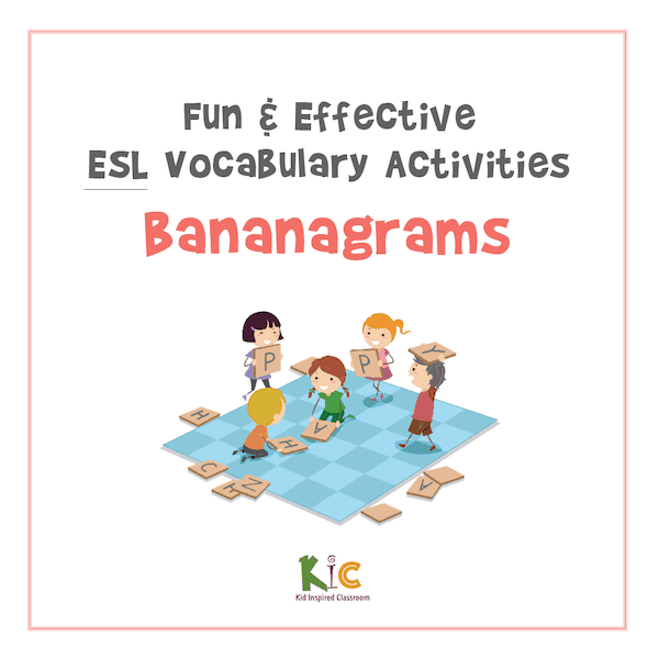Fun and Effective ESL Vocabulary Activity Bananagrams