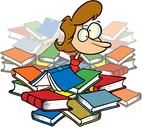 4 Quick Steps to Differentiate for ESL Reading Comprehension teacher with books