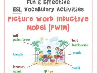Fun and Engaging ESL Teaching Activity Picture Word Inductive Model