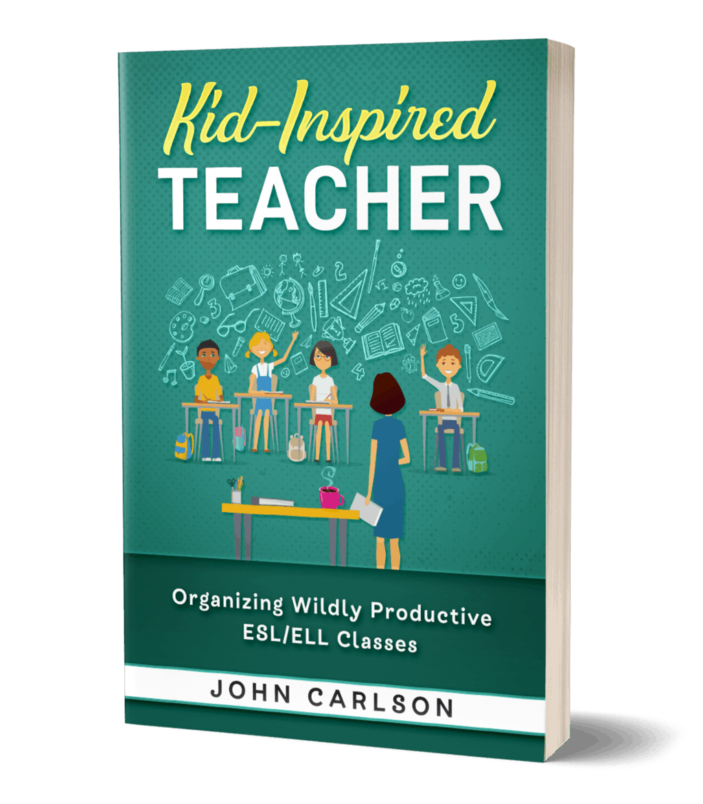 Kid-Inspired Teacher How to Teach ESL Book Cover