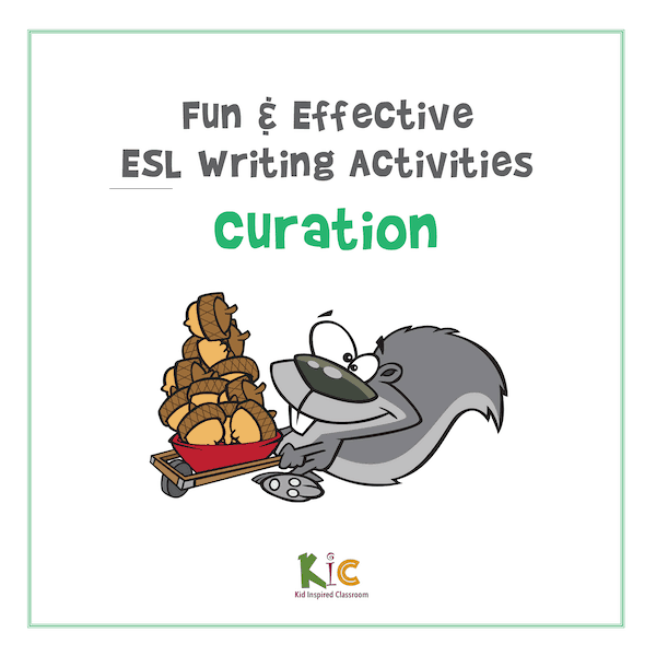 Fun and Effective ESL Writing Activity Curation