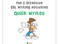 Fun and Effective ESL Writing Activity Quick Writes