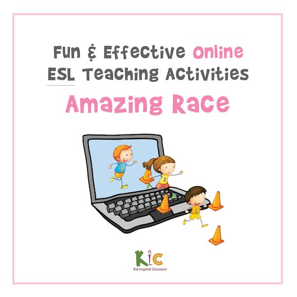 Fun and Effective Online ESL Teaching Activity Amazing Race (600x600)