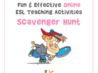Fun and Effective Online ESL Teaching Activity Scavenger Hunt (600x600)