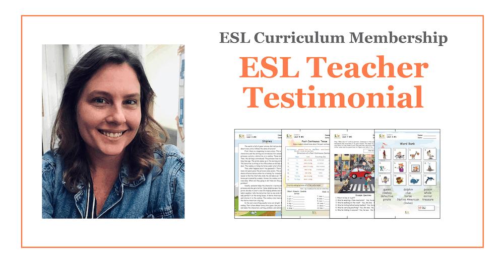 Mara's Testimonial ESL Curriculum Membership Materials v2.1