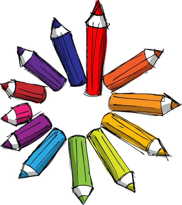 Fun ESL Writing Activity Color Coded Writing