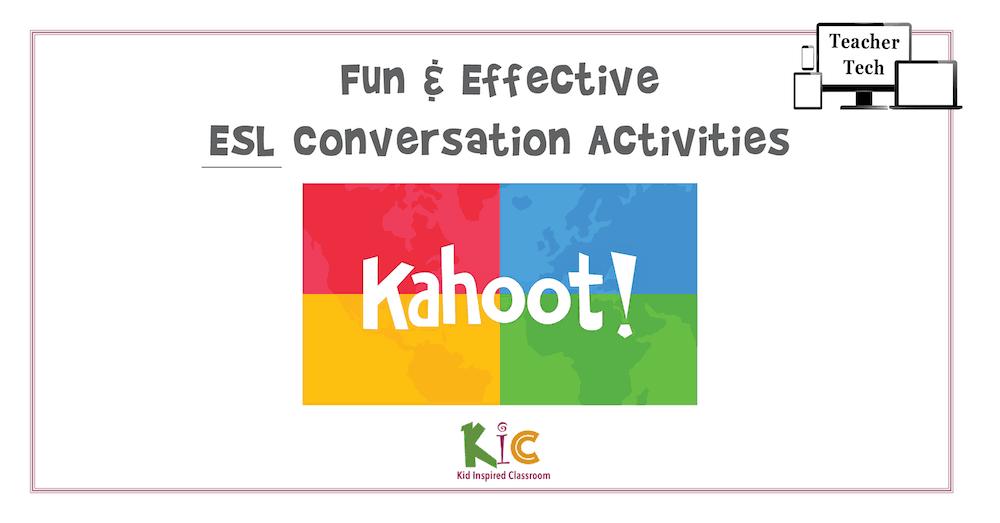 Fun and Effective ESL Conversation Activity Quizzes with Kahoot App4