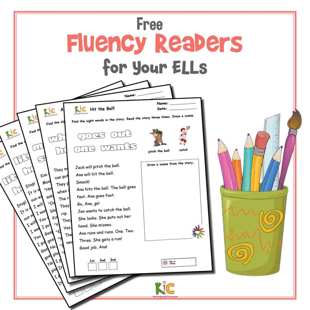 Fluency Reading Passages for English Learners Cover3
