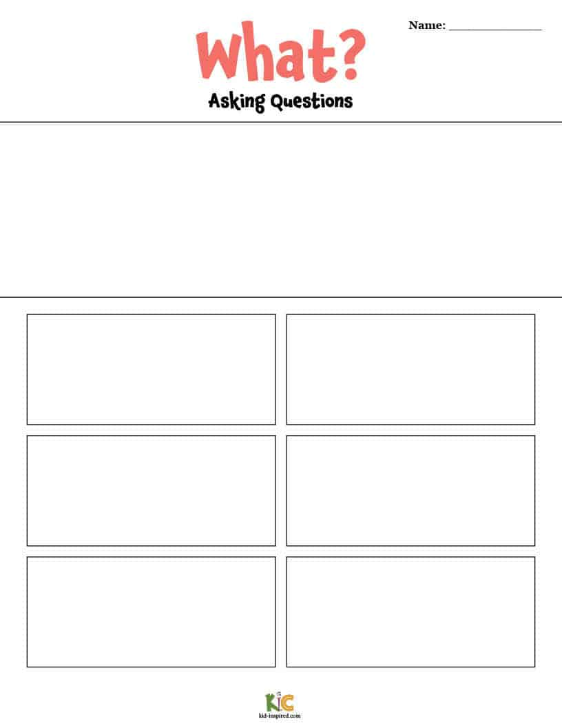 Anchor Chart Fill-In Worksheet from the ESL Curriculum Membership