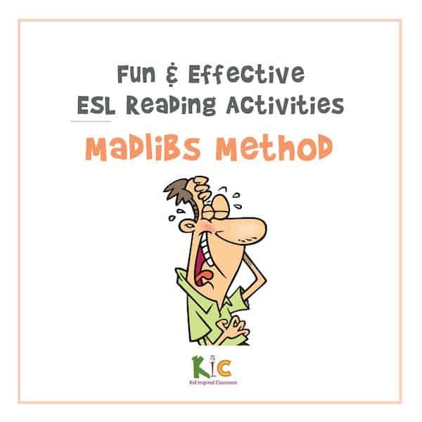 Madlibs Method Fun and Effective ESL Reading Activity